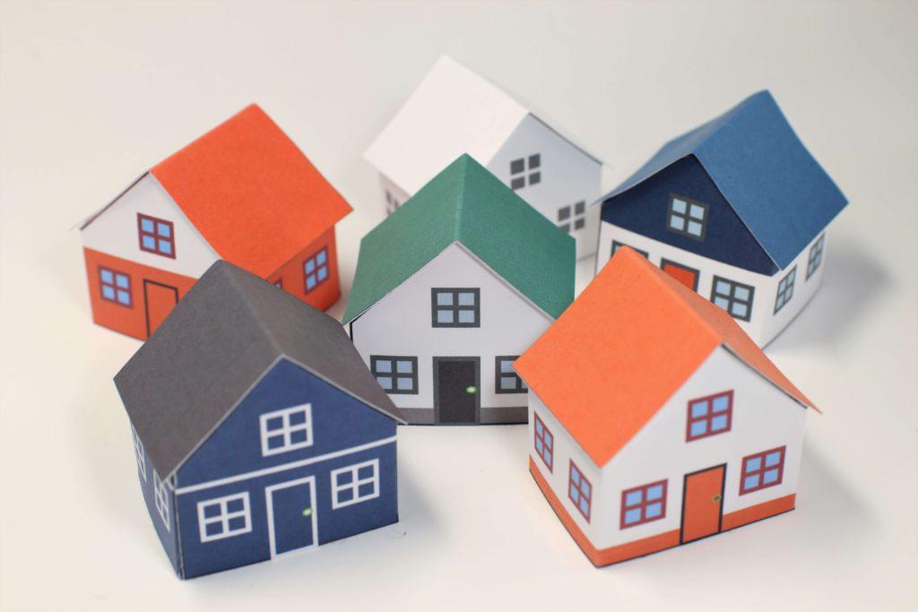 おすすめ外壁材 家の模型