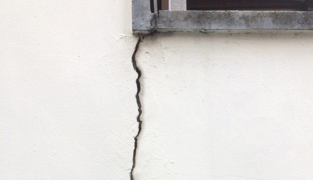 外壁補修 クラック