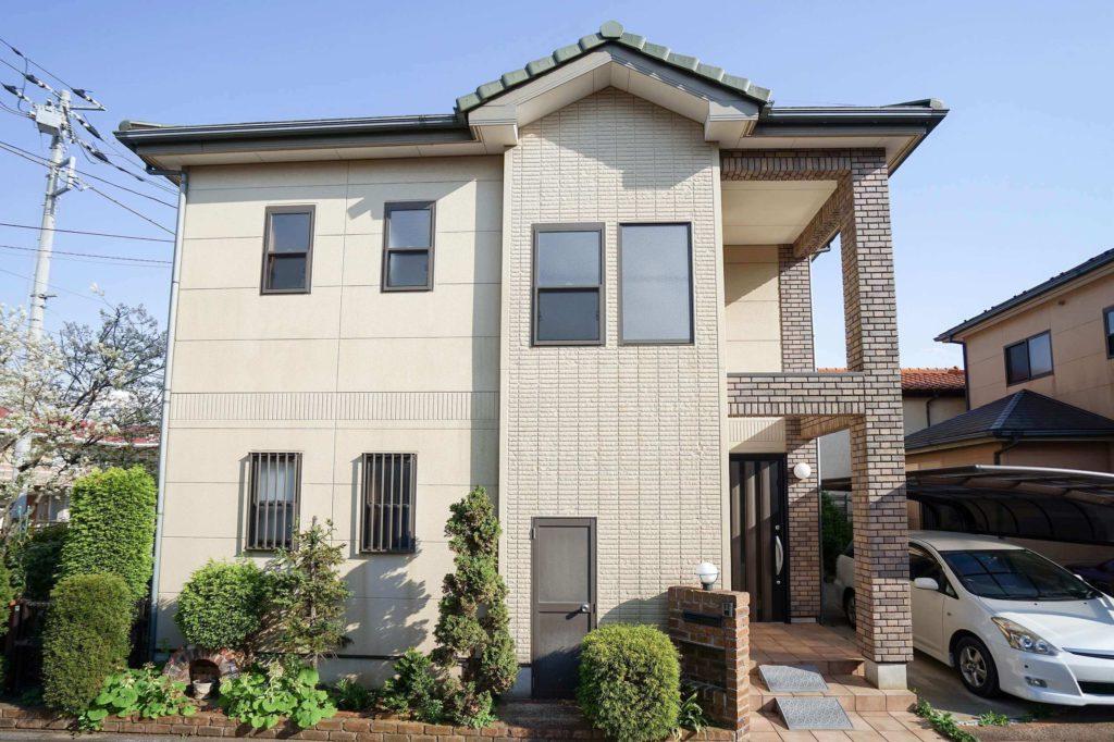 40坪の外壁塗装 複雑な構造の家