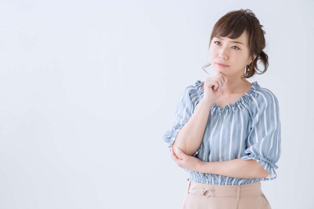 プレミアムシリコンのデメリットに悩む女性