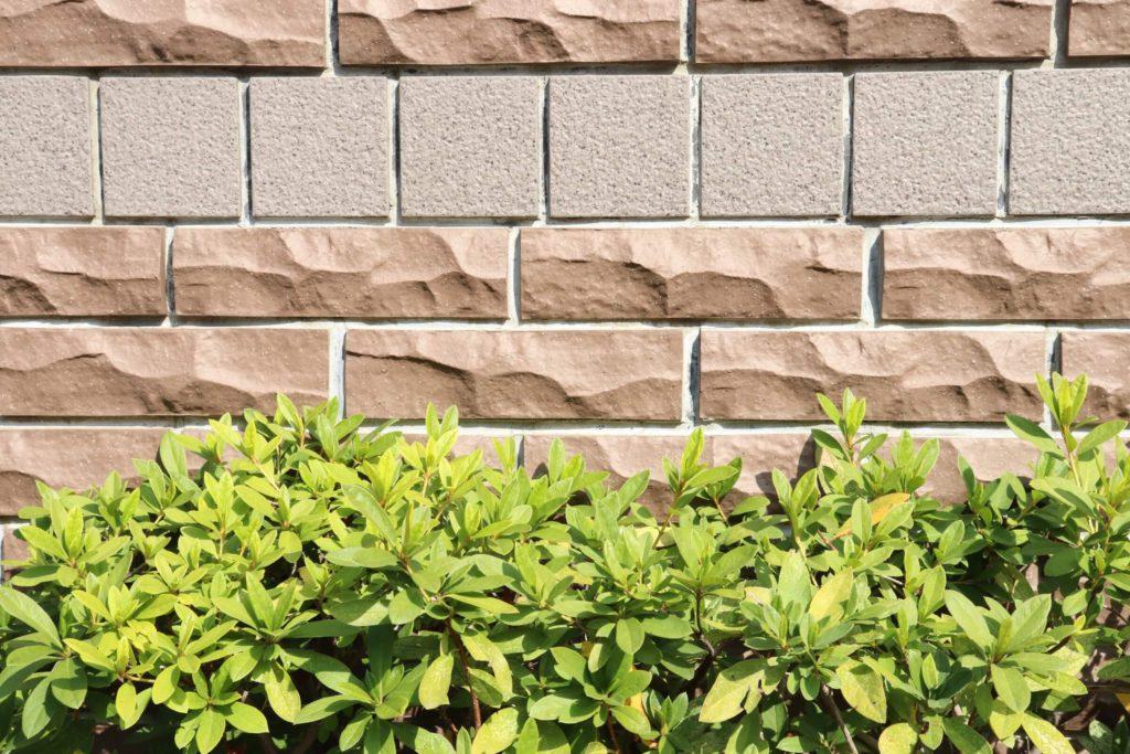 外壁タイル ベージュの外壁
