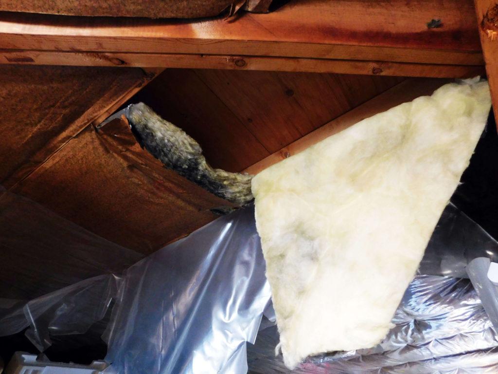 40坪の外壁塗装 内部の劣化