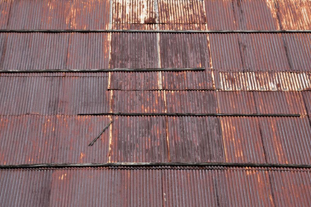 屋根の材質 金属のさび