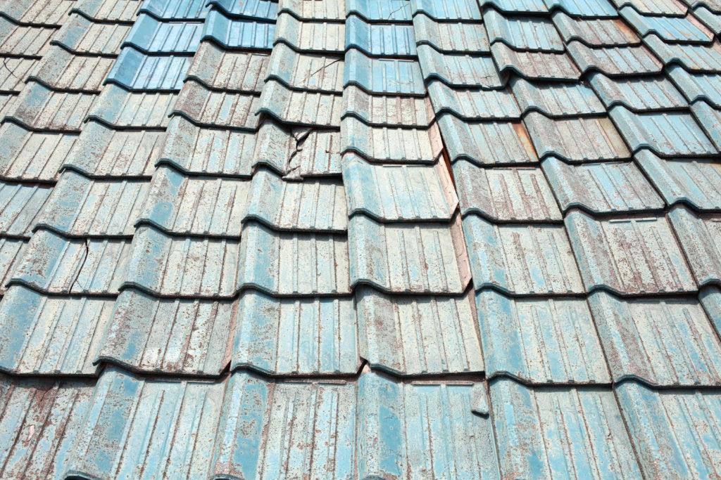 屋根塗装 錆びた屋根