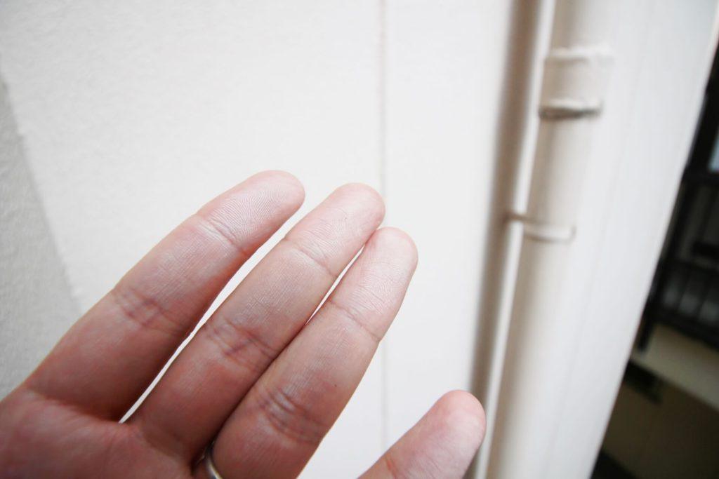 断熱塗料ガイナ チョーキング現象