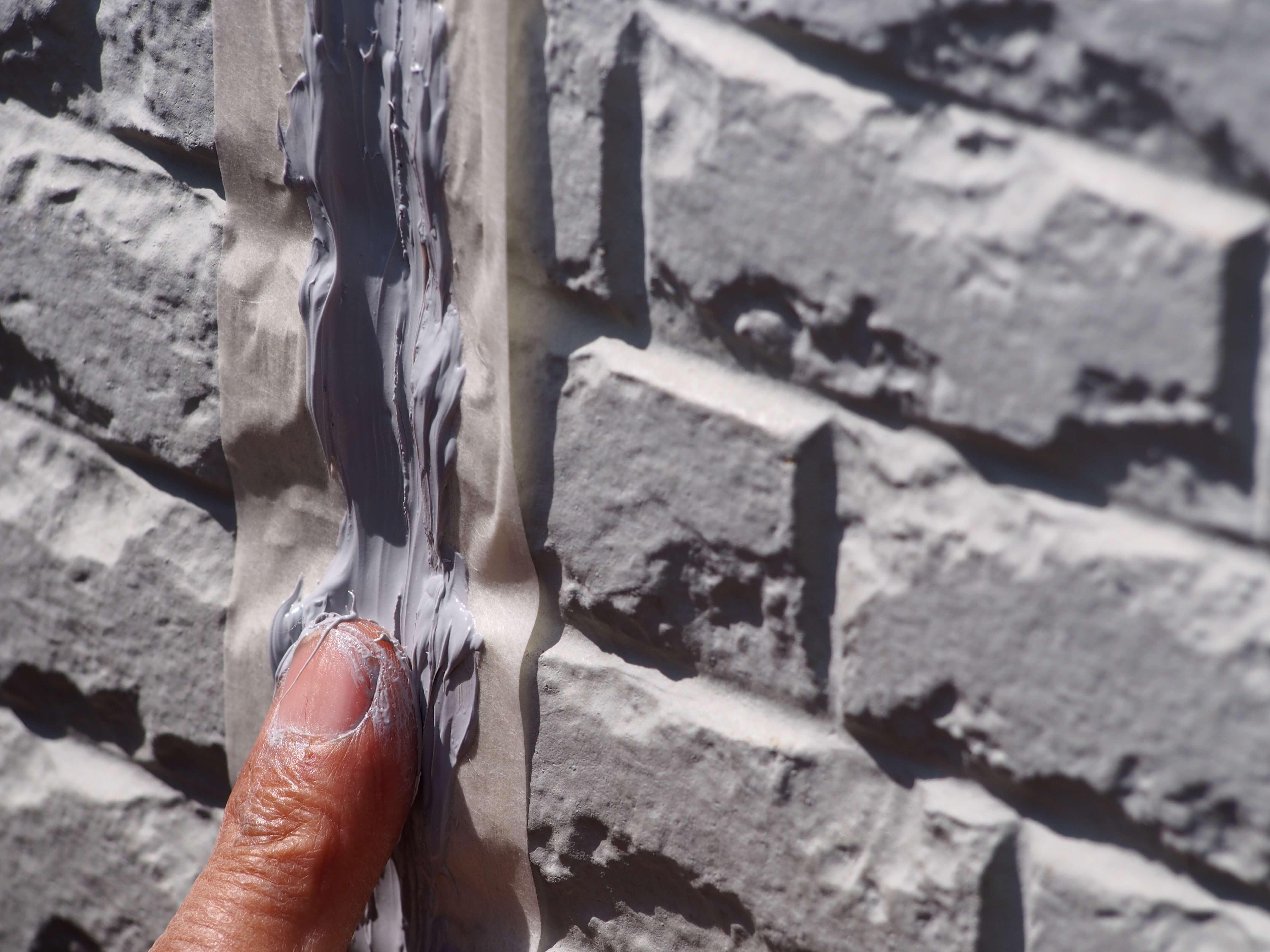コーキングとシーリング 外壁の隙間を埋める手