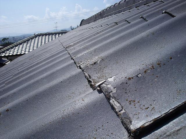 屋根のメンテナンス 剥がれ