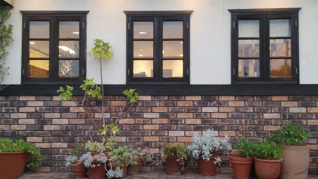レンガ外壁 おしゃれなレンガの外壁