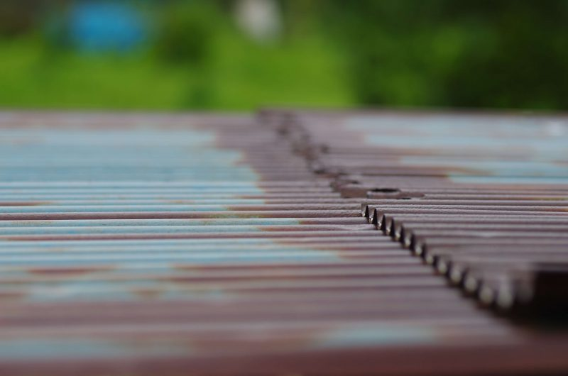 錆 トタン屋根