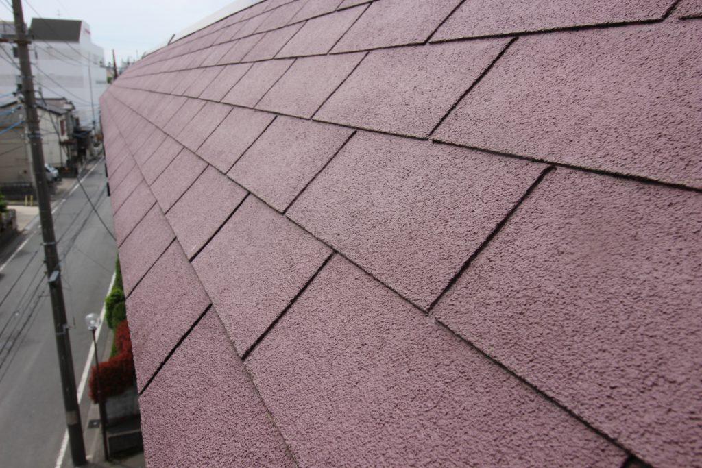 スレート屋根 ひび割れ