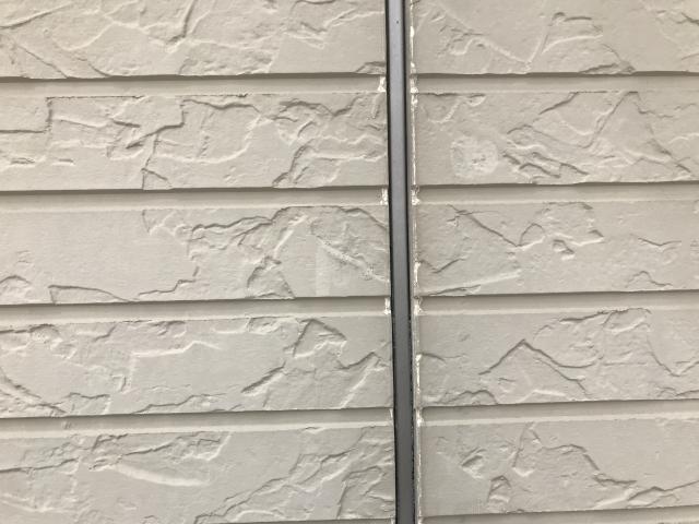 レンガ外壁 白いレンガ調サイディング