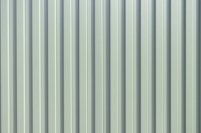 ガルバリウム鋼板を使用した外壁