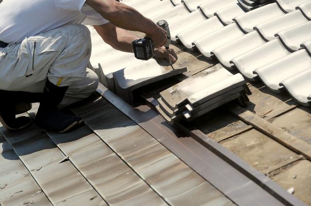屋根 瓦 葺き替え工事