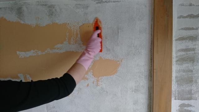 漆喰 補修