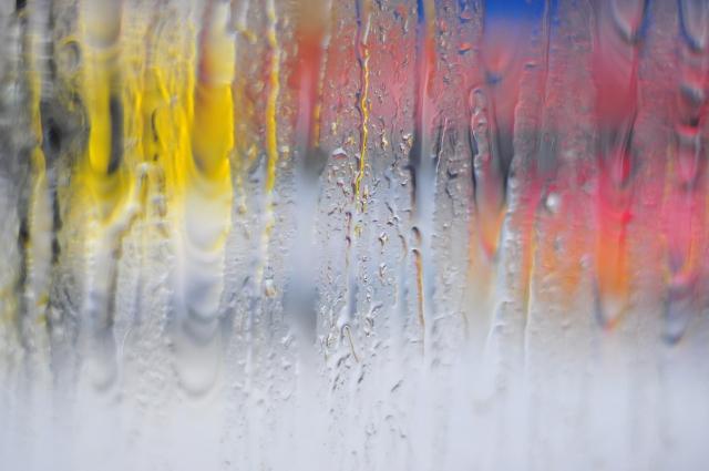 断熱塗料ガイナ 水滴