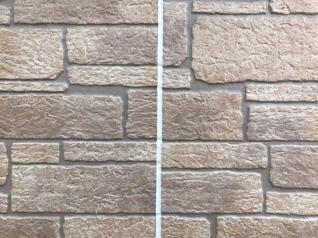 コーキングとシーリング 隙間を埋めた外壁