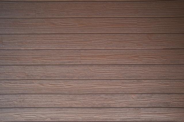 玄関ドア 茶色の木目