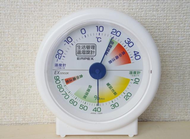 断熱塗料ガイナ 温度計