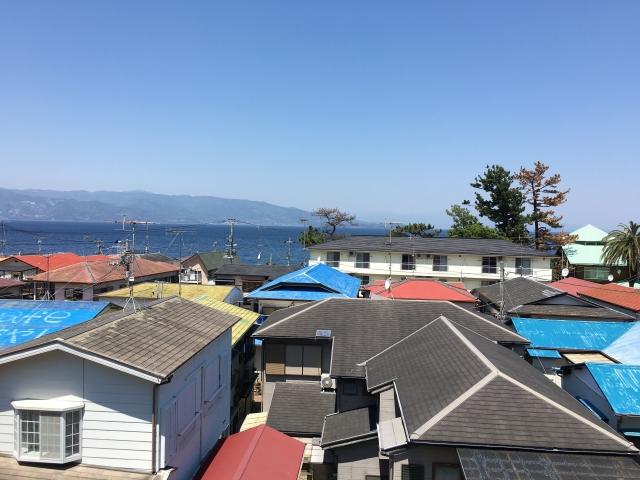 いろんな色の屋根