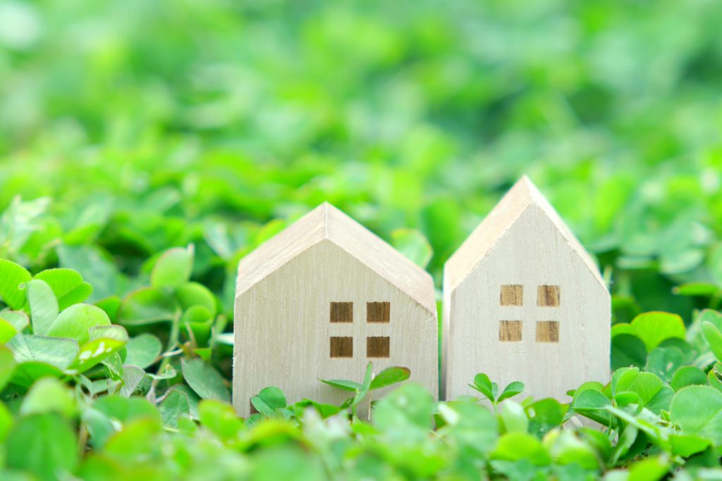 クローバー 模型の家