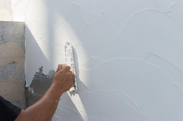 漆喰 DIY 施工方法