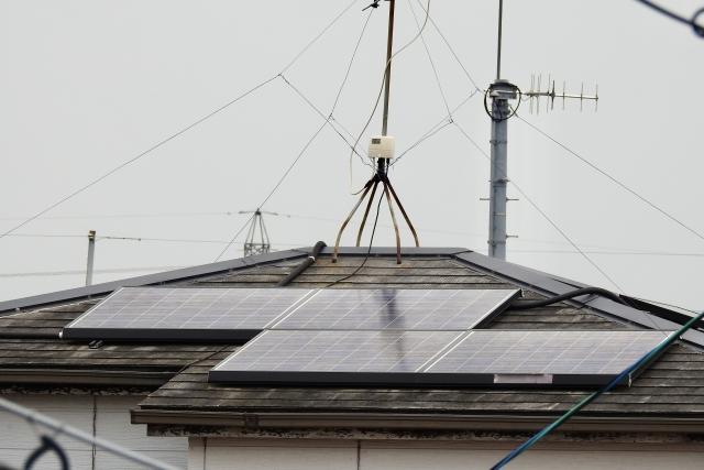 太陽光パネル 屋根